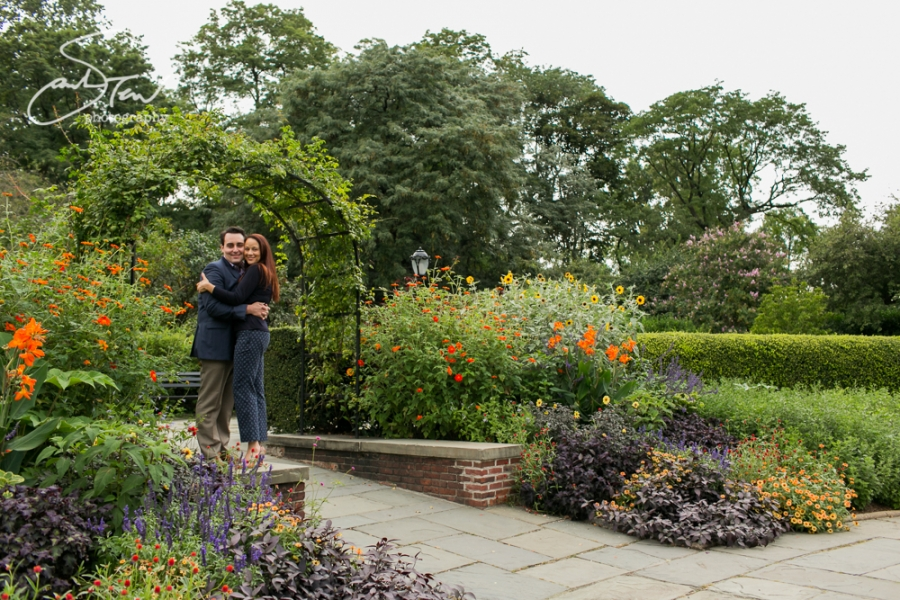 live - Central Park Conservatory Garden