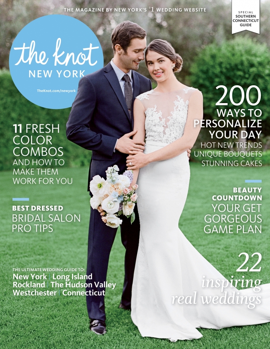Wedding Featured In The Knot New York Magazine
