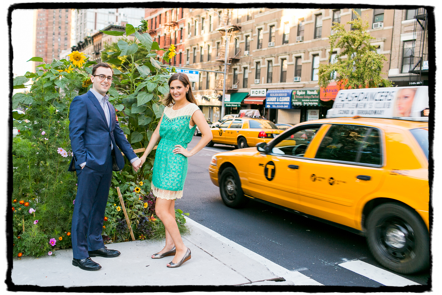 Engagement Portraits: Sarah & Jeff on the Upper East Side.