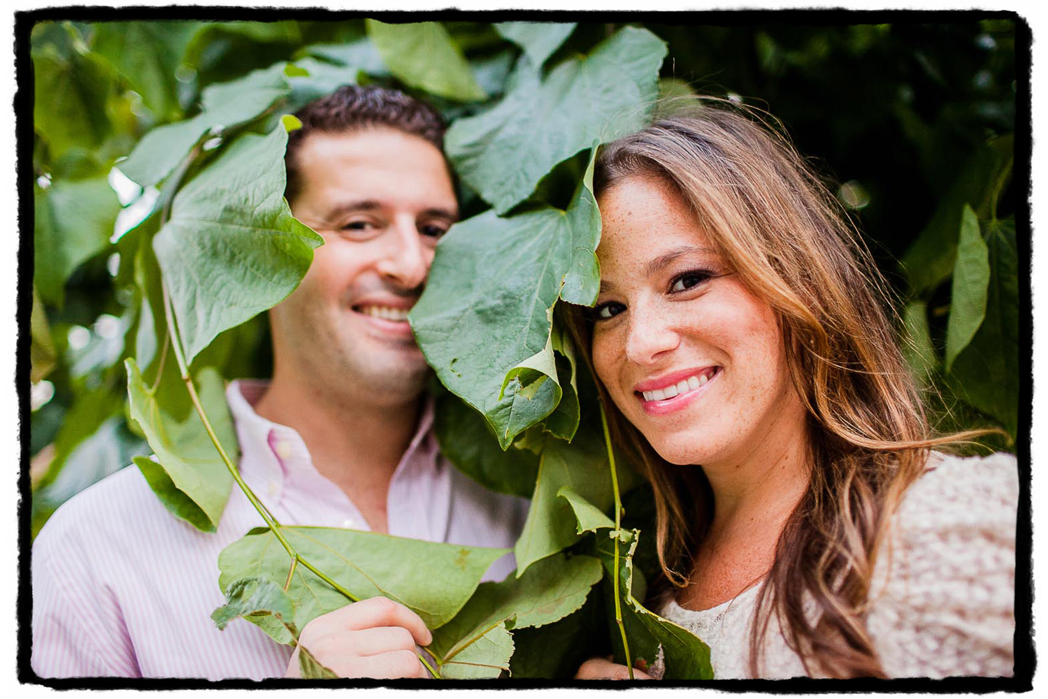 Engagement Portraits: Rorie & Adam on the High Line.